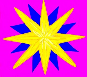 IMG_3608 ETOILE 1 avec rose et un coeur